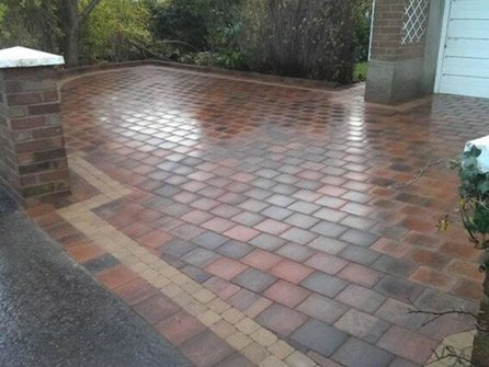 driveways completed in Sevenoaks